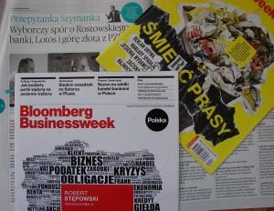 """""""Bloomberg Businessweek Polska"""" wieszczył śmierć prasy i sam został zlikwidowany :("""