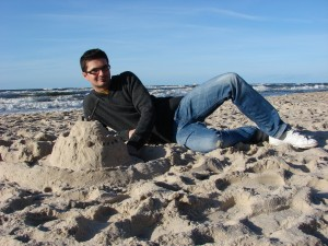 Ja i zameczek z piasku :)