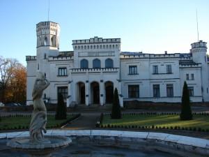 Pałac Będlewo (w piątek 26.10.2012 bez śniegu).