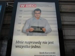 """Reklama czasopisma """"W sieci""""."""