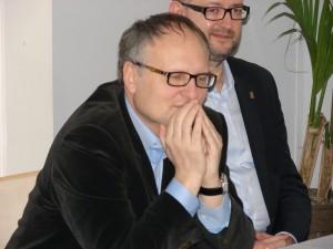 Paweł Lisicki i Rafał Ziemkiewicz.