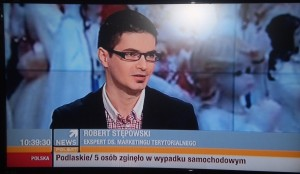Robert Stępowski w Polsat News (2.XII.2012)