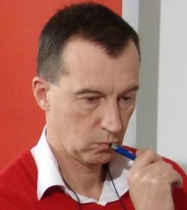 """Andrzej Skworz, redaktor naczelny """"Press""""."""