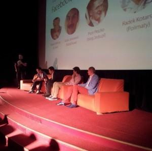 Jeden z paneli podczas MediafunLAB 2013.