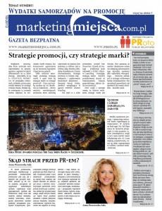 """Nowa gazeta o marketingu terytorialnym """"MarketingMiejsca.com.pl"""""""