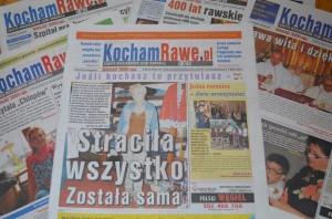 """Gazeta """"KochamRawe.pl Extra"""" Wydawnictwa ROSTER."""