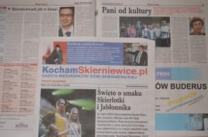 """""""KochamSkierniewice.pl"""" numer pilotażowy. Wrzesień 2013r."""