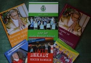 Książeczki, które wydałem w 2013 roku.