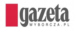 """Logo """"Gazety Wyborczej"""" Agora."""