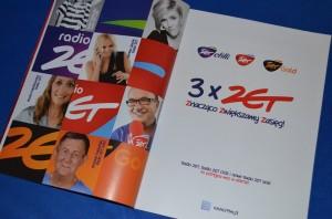 """Reklama Radia Zet w grudniowym magazynie """"Press""""."""