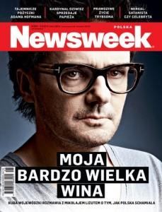 """Okładka """"Newsweeka"""", od której rozpoczął się medialny szum wokół Wojewódzkiego"""