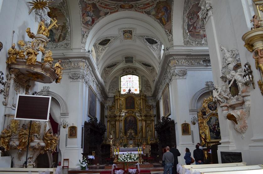 Klasztor pocysterski w Lądzie nad Wartą.