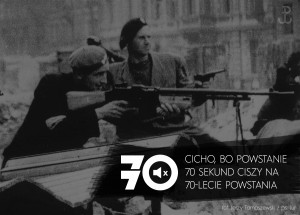 70 sekund na 70 rocznicę Powstania Warszawskiego