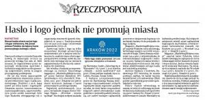Mój tekst z Rzeczpospolitej 1.08.2014r.