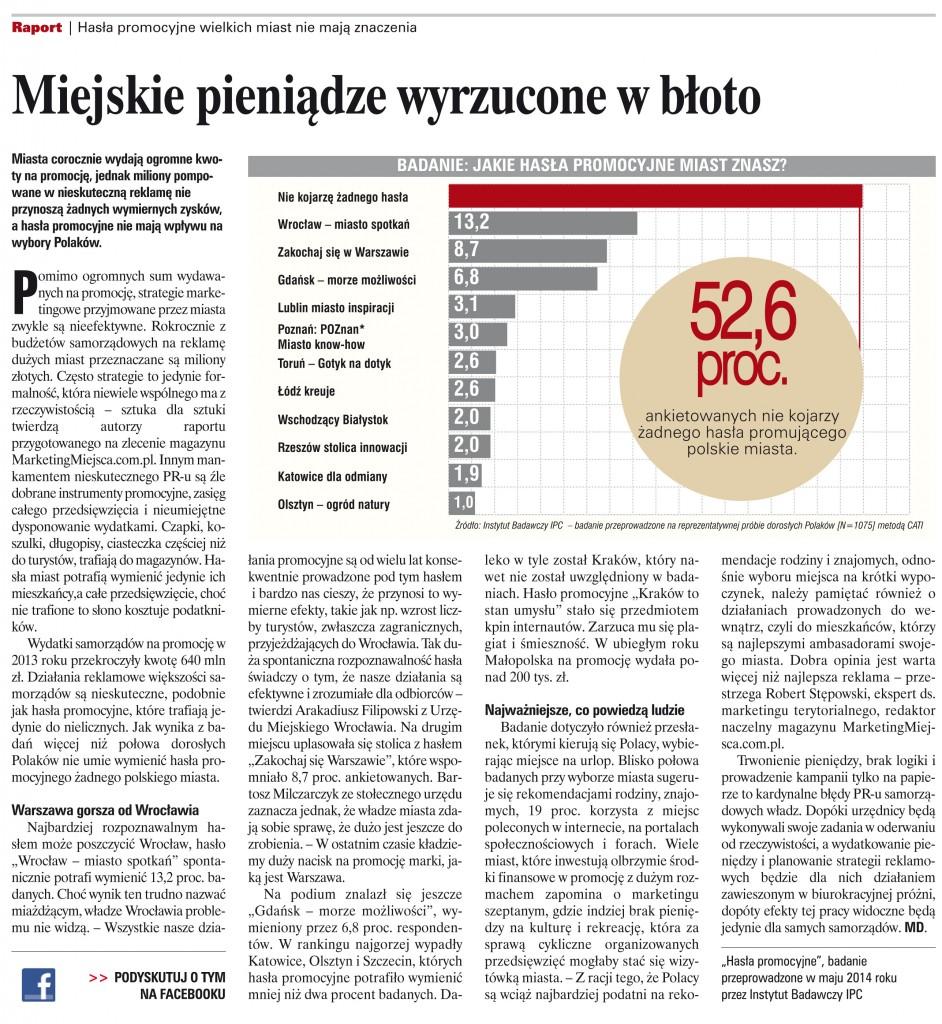 Wiadomości Turystyczne sierpień 2014 r.