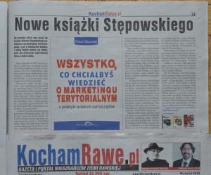 """Książka """"Wszystko co chciałbyś wiedzieć o marketingu terytorialnym. Z praktyki polskich samorządów"""""""