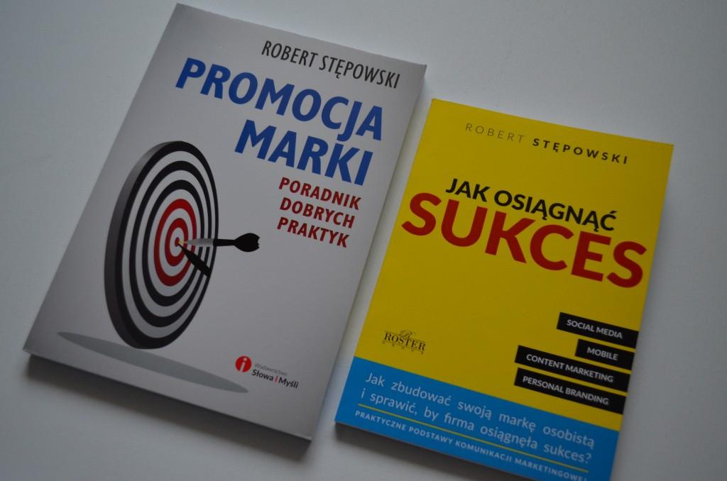 """""""Jak osiągnąć sukces"""" i """"Promocja marki. poradnik dobrych praktyk"""" szukajcie w księgarniach - również w księgarniach MATRAS"""