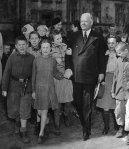 Herbert Hoover w Warszawie (1946 rok)