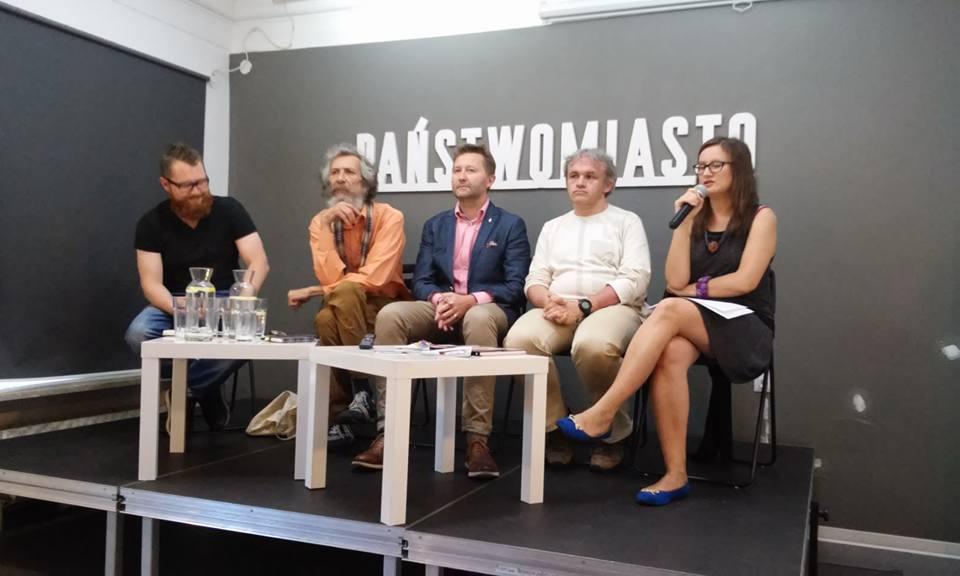 Spotkanie z Grzegorzem Kossonem i pasjonatami historii Warszawy